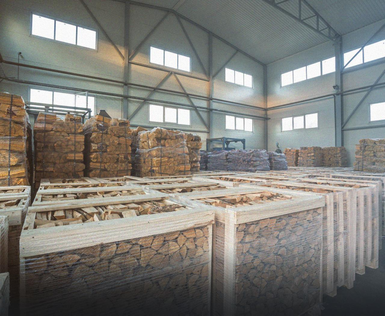 Firewood production and distribution